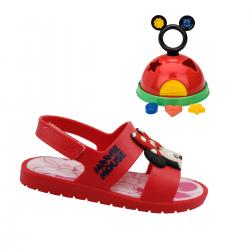 Imagem - Papete Infantil Grendene Kids Mickey E Minnie  - 097757