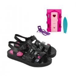 Imagem - Sandalia Infantil Grendene Kids Barbie - 090734