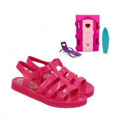Imagem - Sandalia Infantil Grendene Kids Barbie - 090732
