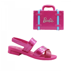 Imagem - Sandália Infantil Grendene Kids Barbie Volta Ao Mundo - 097525