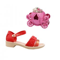 Imagem - Sandália Infantil Grendene Kids Princesas Fairy - 097533
