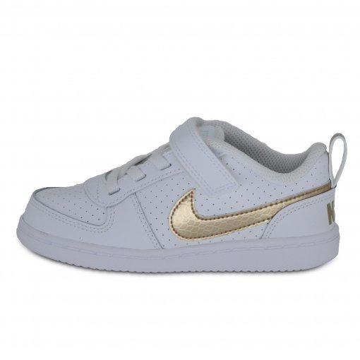 Tênis Bebê Nike Bv0749-100 Court Borough