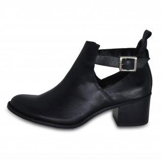 Imagem - Ancle Boots Feminina Couro Natural Julia 6004 Anise cód: 3806004ANISE1
