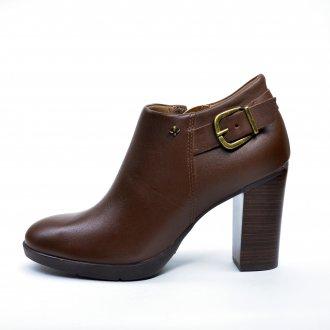Imagem - Bota Ankle Boots Feminino Cravo e Canela 161207-3 cód: 82161207-332