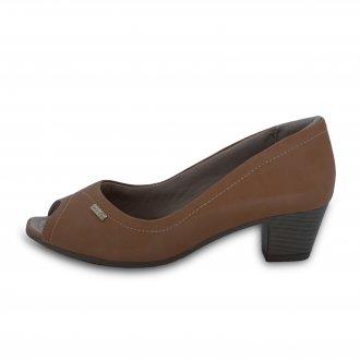 Imagem - Sapato  Peep Toe Feminino Comfortflex 18-64301 cód: 30118-6430110000045