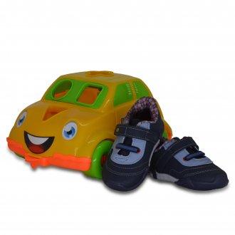 Imagem - Tênis Bebê Kidy 008-0480 Colors C/Carro Pedagógico cód: 112008-0480COLORSC/CA22