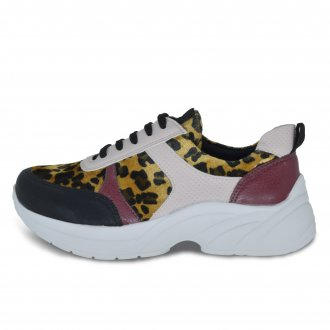 Imagem - Tenis Chunky Sneakers Feminino Ana Flex 413923 cód: 3614139231006