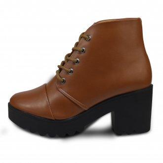 Imagem - Ankle Boots Feminino Via Brevi Y1003-b cód: 353Y1003-B17