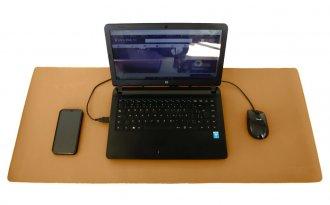 Imagem - Desk Pad Huge 90cmx40cm Em Sintético Laminado PVC Viccina  - 103000028
