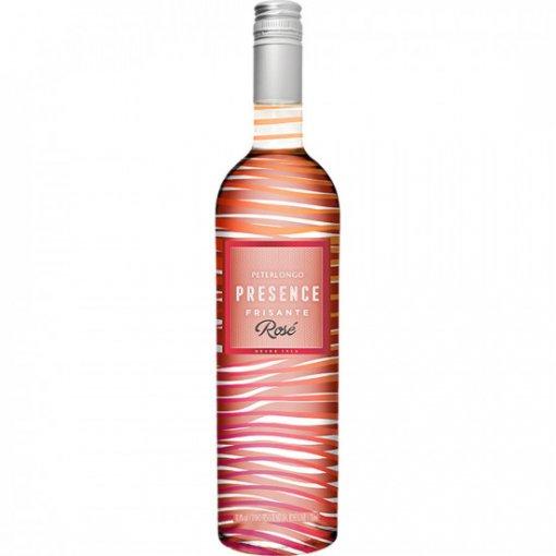 PACK Peterlongo Frisante Presence Rose Suave 750ml - (cx c/ 6und)