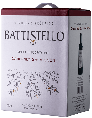 Battistello Bag in Box 3L Cabernet Sauvignon