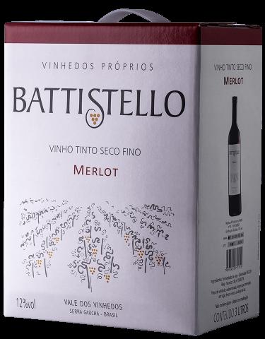 Battistello Bag in Box 3L Merlot