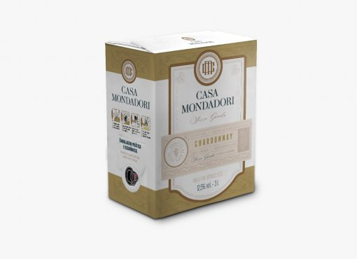 Casa Mondadori Bag in Box Chardonnay 3L
