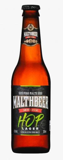 Cerveja Malthbeer Hop Lager 355ml
