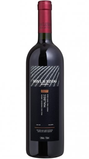 Don Laurindo Vinho Malbec Reserva 750ml
