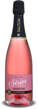 PACK Espumante Série By Salton Moscato Rose 750ml -(CX C/6 UND)