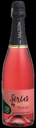 PACK Espumante Séries By Salton Brut Rose 750ml  -(CX C/6 UND)