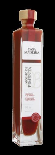 Molho de Pimenta Calabresa com Cabernet Sauvignon Casa Madeira 50ml
