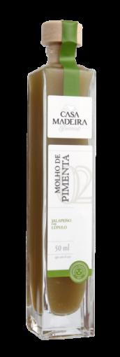 Molho de Pimenta jalapeno com Lupulo Casa Madeira 50ml