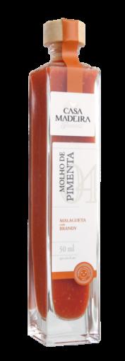 Molho de Pimenta Malagueta com Brandy Casa Madeira 50ml