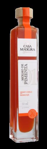 Molho de Pimenta Sweet Chili com Maracujá Casa Madeira 50ml