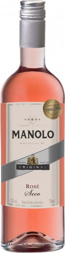 PACK Peterlongo Manolo Rose Seco 750ml - (cx c/ 12und)