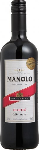 PACK Peterlongo Manolo Tinto Suave 750ml - (cx c/ 12und)