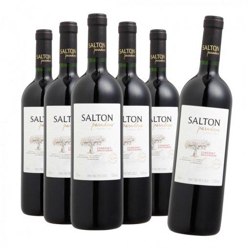 PACK Salton Vinho Paradoxo Cabernet Sauvignon 750ml - (CX C/6UND)
