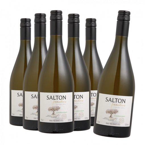 PACK Salton Vinho Paradoxo Chardonnay 750ml - (CX C/6UND)