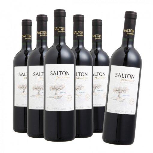 PACK Salton Vinho Paradoxo Merlot 750ml - (CX C/6UND)