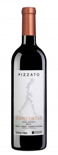 PACK Pizzato Concentus - Merlot / Tannat / Cab. Sauvignon 750ml (cx c/ 6und)