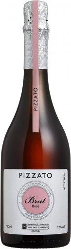 PACK Pizzato Espumante Brut Rose Tradicional 750ml (cx c/ 6 und)