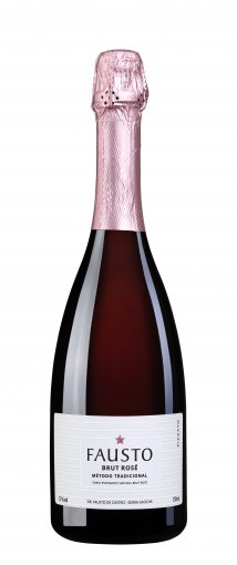 PACK Pizzato Espumante Fausto Brut Rose 750ml -(CX C/6UND)