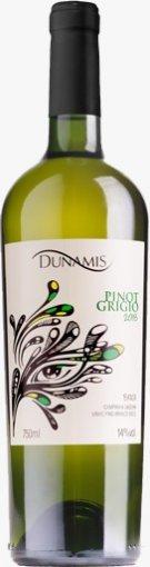 Vinho Branco Dunamis Pinot Grigio 750ml