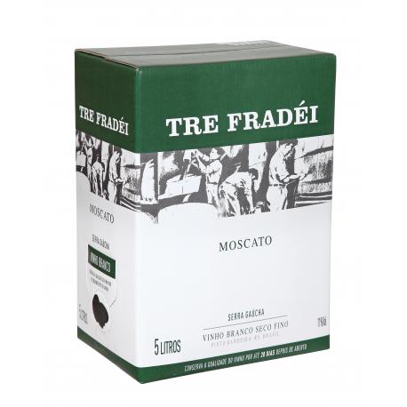 Vinícola Valmarino Vinho Tre Fradéi Bag in Box Moscato 5L
