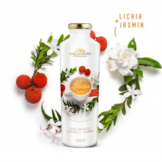 Imagem -  Libertea Ice Tea com Lichia e Jasmim Casa Madeira 500ml - CH401