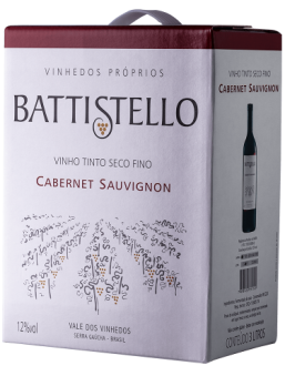 Imagem - Battistello Bag in Box 3L Cabernet Sauvignon  - BA009