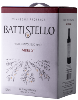 Imagem - Battistello Bag in Box 3L Merlot - BA010