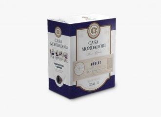 Casa Mondadori Bag in Box Merlot 3L