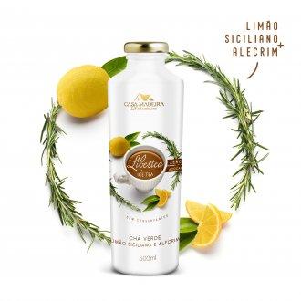 Libertea Ice Tea com Limão Siciliano e Alecrim Casa Madeira 500ml