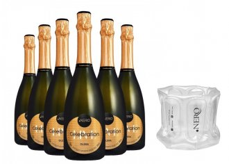 Imagem - Pack Espumante Ponto Nero Celebration Glera 750ml - DPN423PACK