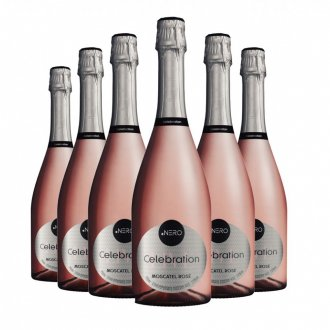 Imagem - Pack Espumante Ponto Nero Celebration Moscatel Rose 750ml - DPN427PACK