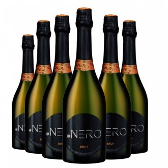 Pack Espumante Ponto Nero Cult Brut 750ml