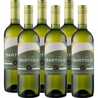 Imagem - PACK Vinho Garibaldi Di Bartolo Branco Seco 750ml -( cx c/ 6und) - VG50007