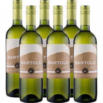 Imagem - PACK Vinho Garibaldi Di Bartolo Branco SUAVE 750ml -( cx c/ 6und) - VG50008