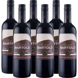 Imagem - PACK Vinho Garibaldi Di Bartolo Tinto Seco  750ml -( cx c/ 6und) - VG50000