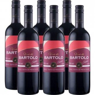 Imagem - PACK Vinho Garibaldi Di Bartolo Tinto SUAVE 750ml -( cx c/ 6und) - VG50006