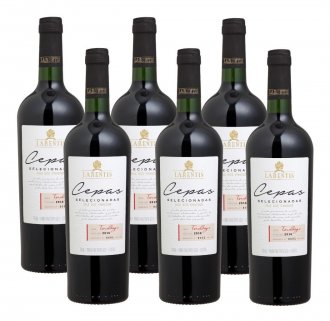 PACK Vinicola Larentis Vinho Cepas Teroldego 750ml - (cx c/ 6 und)