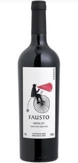 Imagem - Pizzato Fausto Merlot 750ml - PZ018