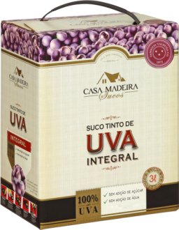 Suco de Uva Bag in box Casa Madeira 3L